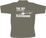 Piloten T-Shirt / Luftfahrt T- Shirt  / THE SKY IS NOT MY LIMIT/ e21